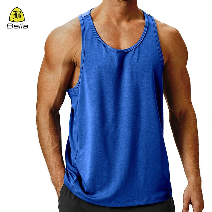 Tank Top Mens Sports Plain