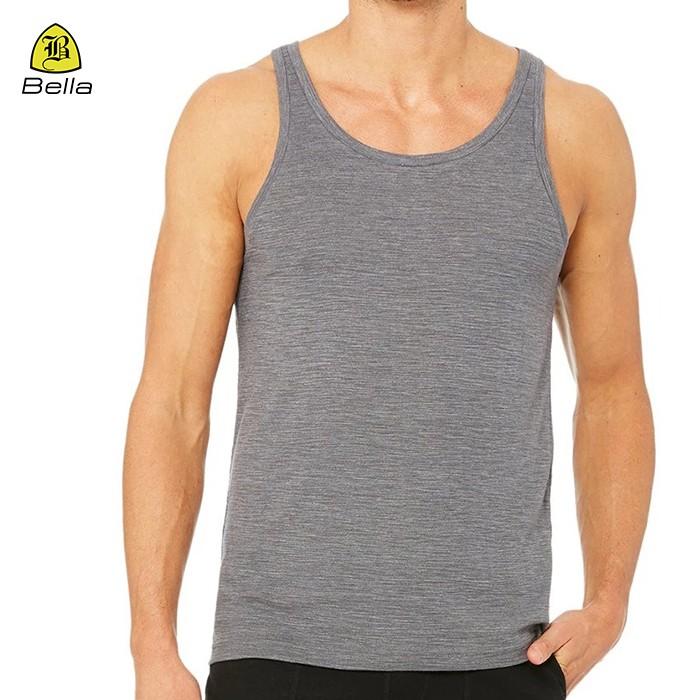 Sleeveless Sports Mens Gym Stringer