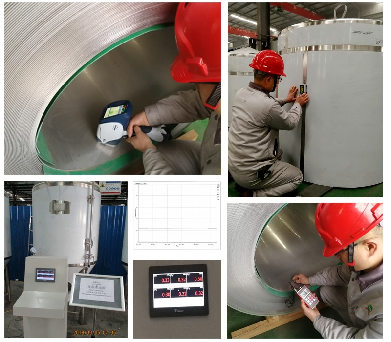 Product quality testing equipment