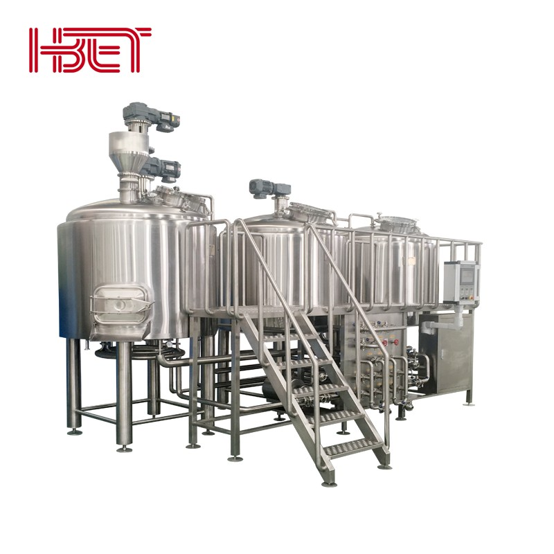 Fabbrica di birra a quattro vasi in acciaio inossidabile 2000L