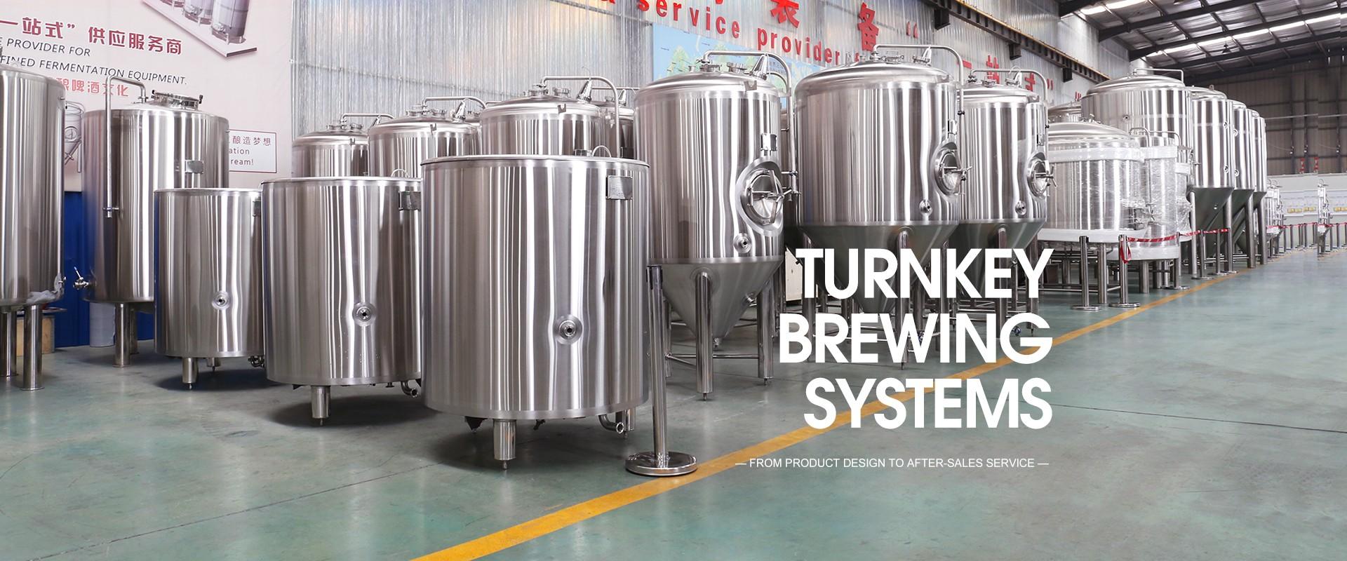 Attrezzatura per birra di fabbrica