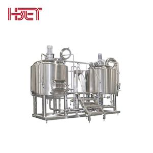 500L Electric Heated Two Vessels Brewhouse