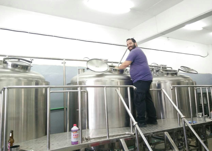 2000L Brewery project in Greece