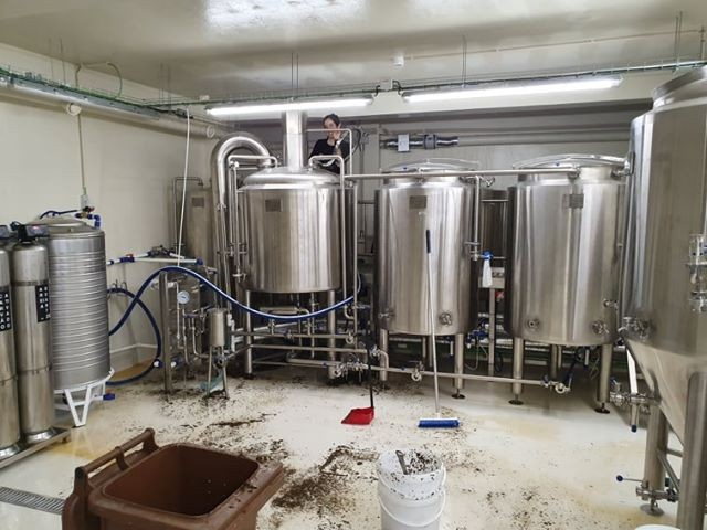 500L Kombucha Brewery inizio della birra ora in Portogallo