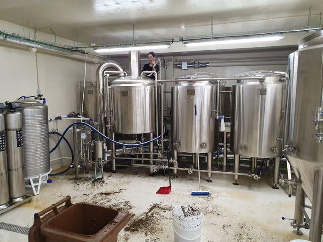 Kombucha brewery