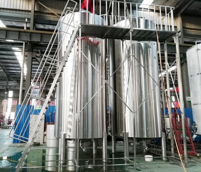 20000L Liquor mixing tanks are ready