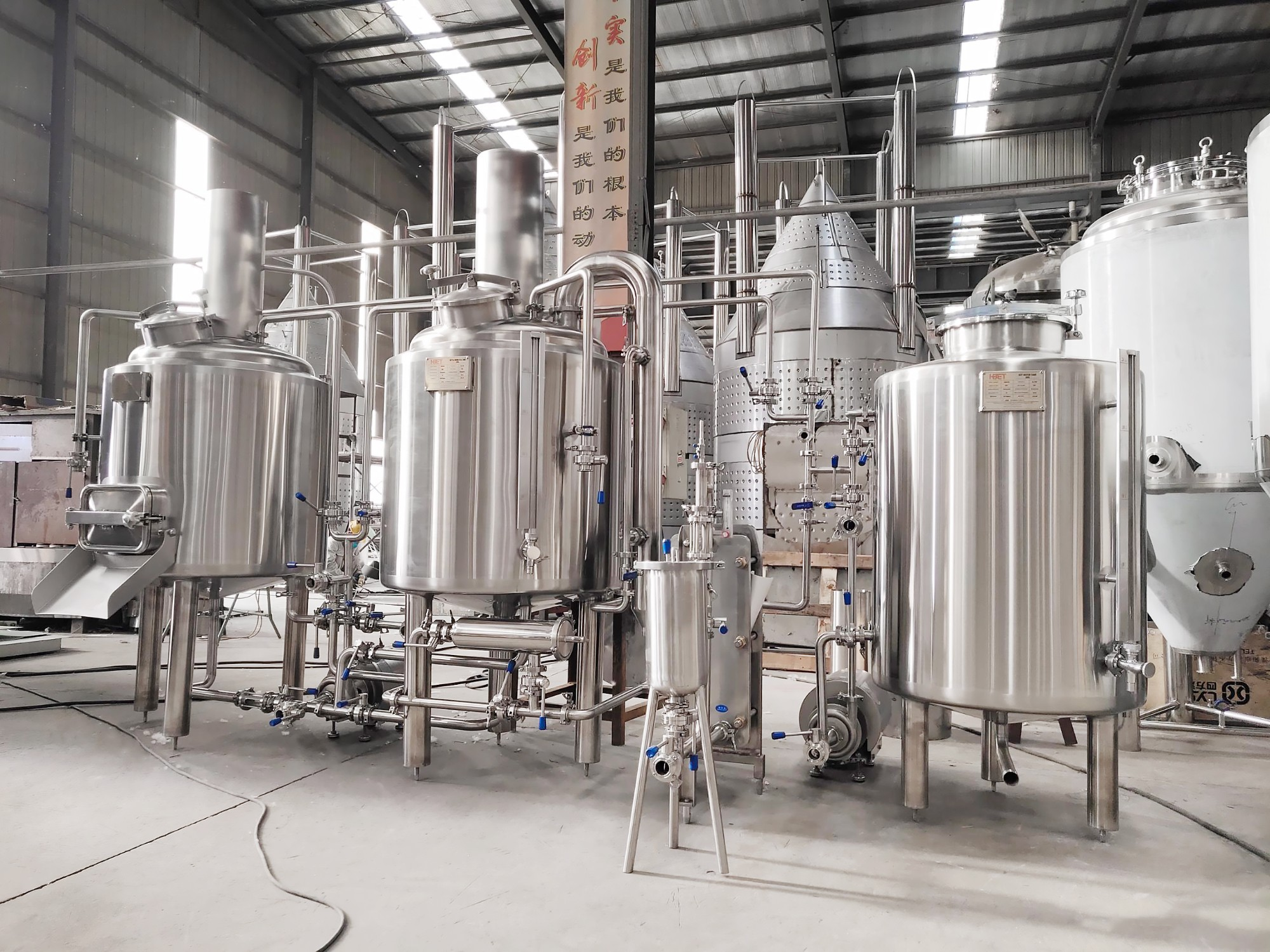 200L micro brewery for Mexico customer