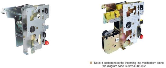 SF6 switch mechanism