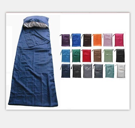 Silk Or Cotton Polyester Fabric Sleep Bag