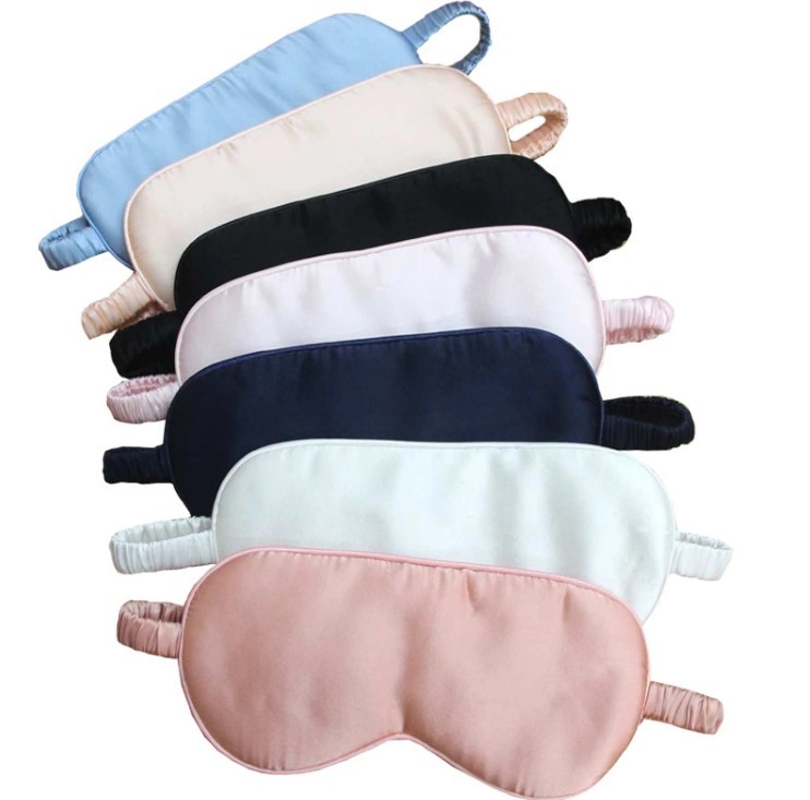 Colourful Silk Sleeping Eye Mask Silk Eye Pillow
