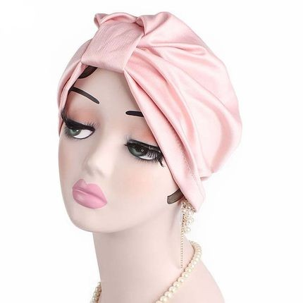 Bekväm Sleep Cap Satin Hair Bonnet