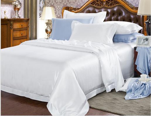 klassiska 100% siden sängkläder