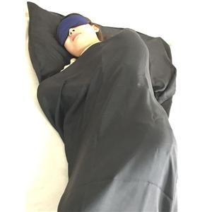 Anpassad paket och Color 100% siden sovsäck