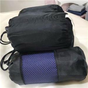 Natural Cotton Zipper Sleeping Bag Liner