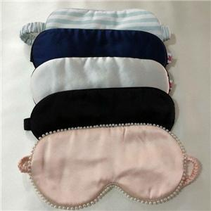 Custom Color And Logo 100% Silk Sleeping Eye Mask