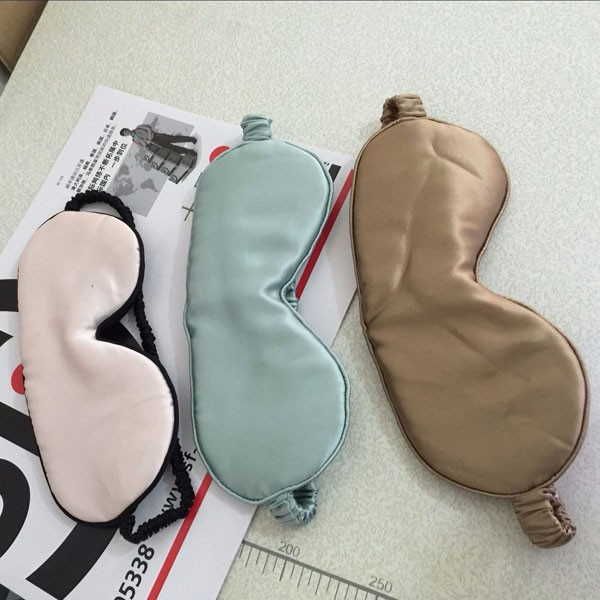 The Latest Silk Custom Eye Mask Various Color