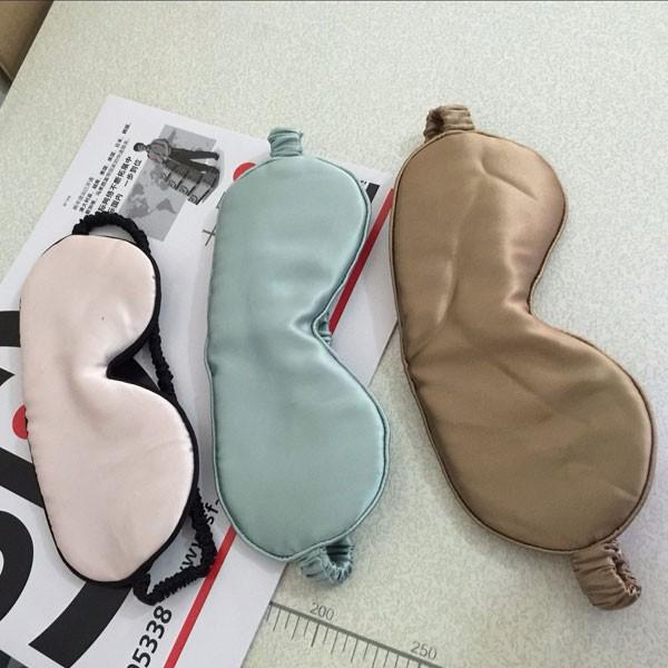 L'ultima Seta personalizzato Eye Mask vari colori