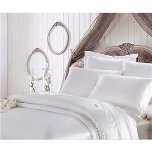 White Silk Pillow Case