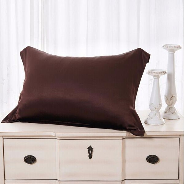Low MOQ Silk Pillowcases Queen Size Multi Colors