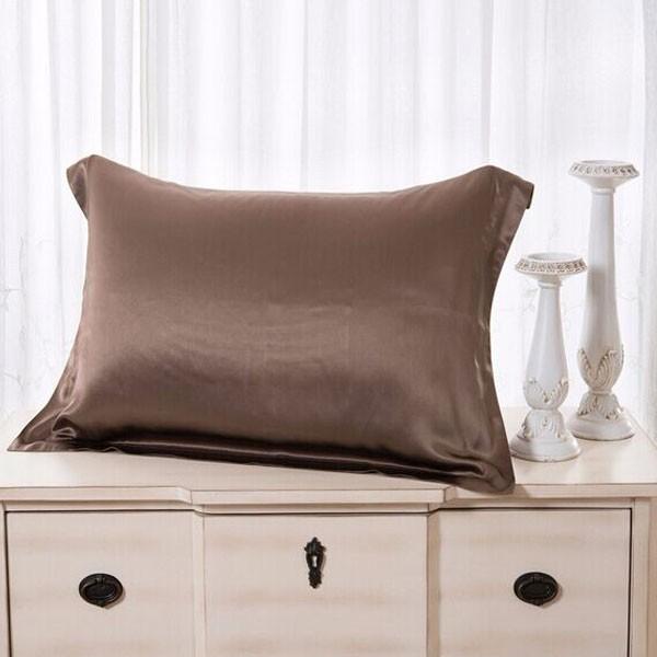 Luxury100% Mulberry Caramel Silk Pillowcase