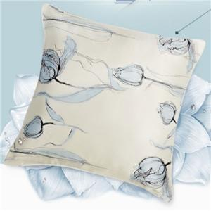 Silk Flowered Printing Pillowcases