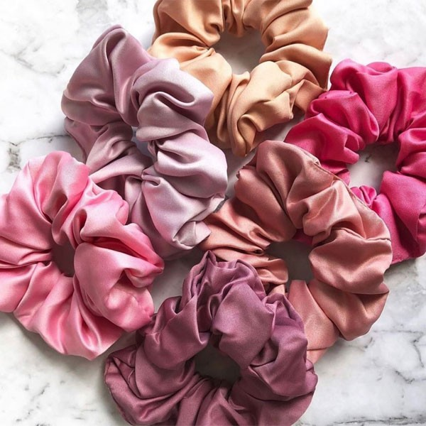 Scrunchies Hair Ties Elegant Ponytail Holders