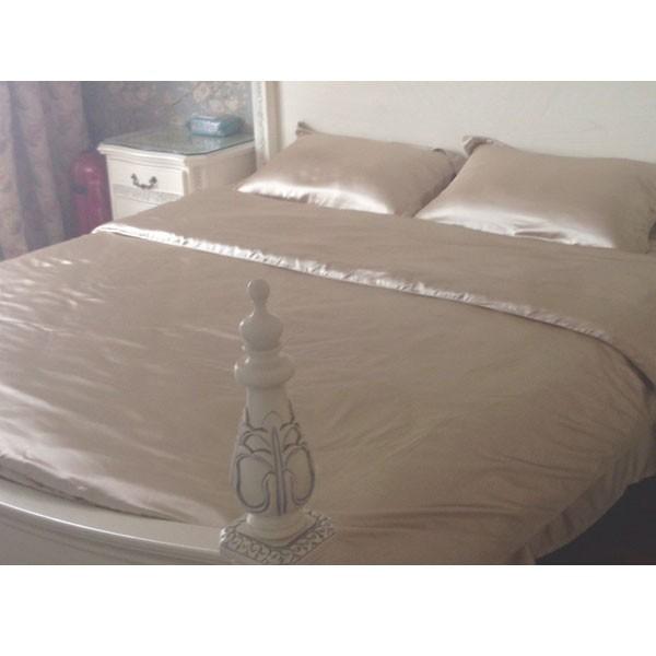 Purple Color 100% Silk Bedding Sets