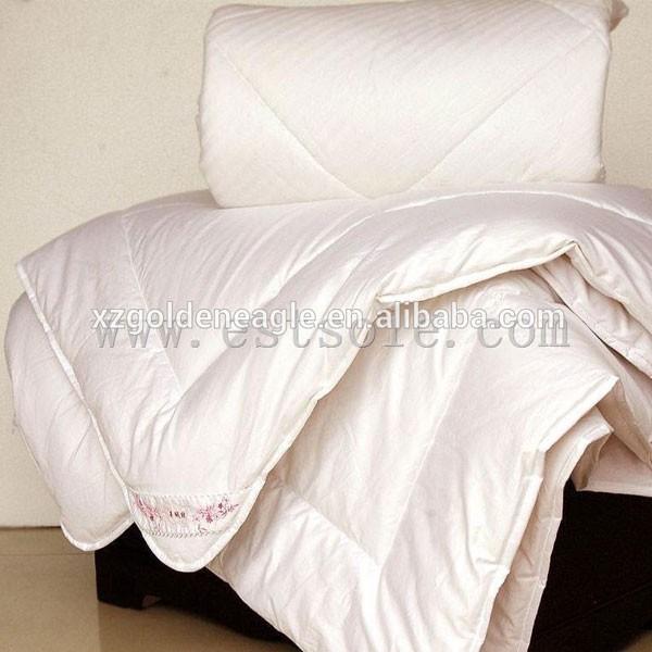 100% Long Silk Handmade Comforter Quilt
