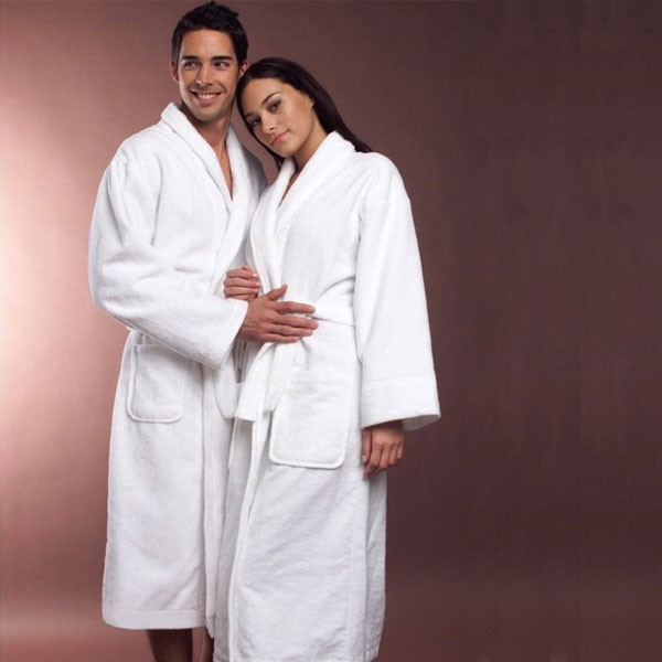 100% Cotton Bamboo Bath Robe