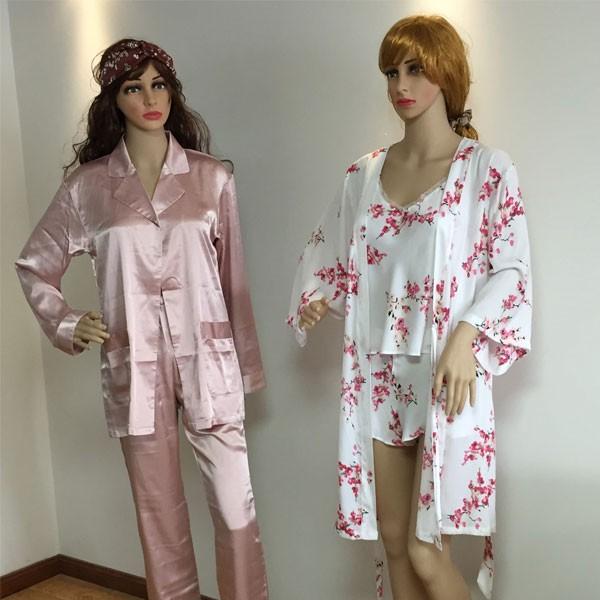 Stile su misura e il colore del 100% Natural pigiami di seta