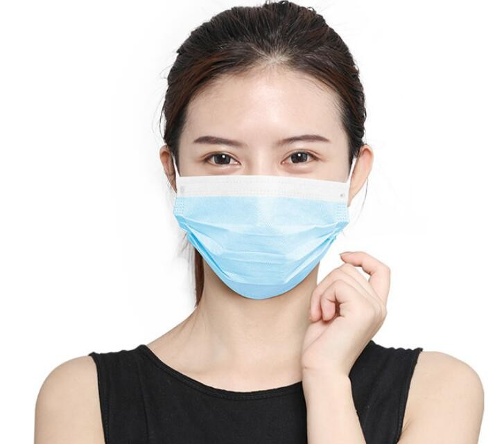 Disposable mask for non-medical adult children