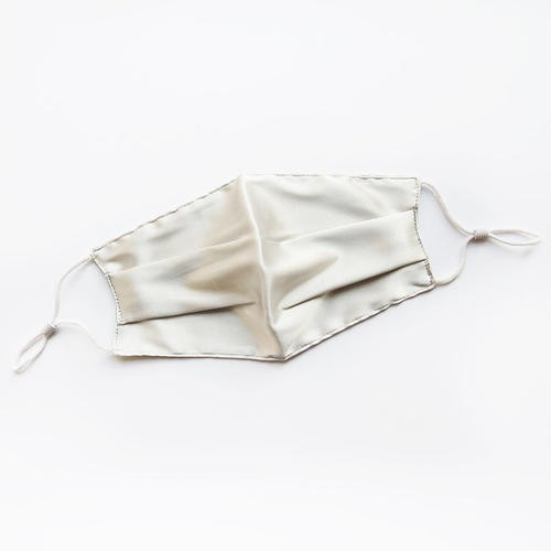 100% silk face cover hand made reusable face cover