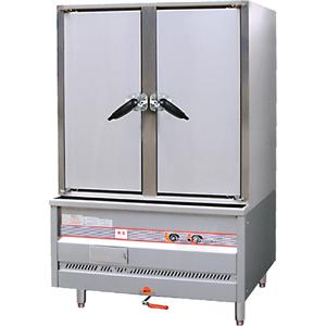 Double Door Gas Food Steamer