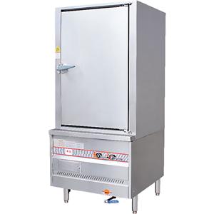 Single Door Gas Food Steamer