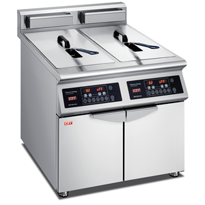 Induction Fryer-twin Tank