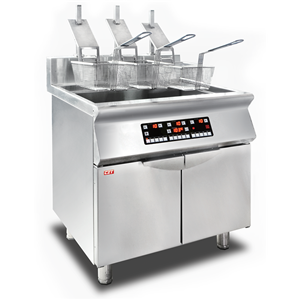 Induction Fryer With Automatic Lift