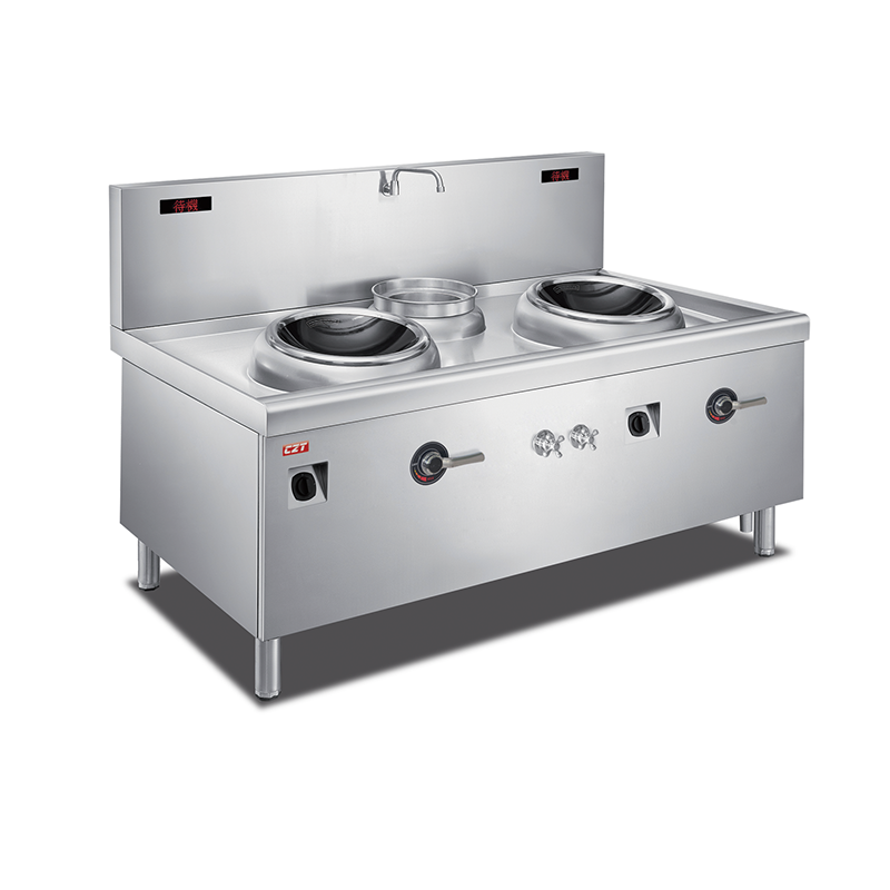 Induction Double Wok Cooker With Stock Pot Manufacturers, Induction Double Wok Cooker With Stock Pot Factory, Supply Induction Double Wok Cooker With Stock Pot