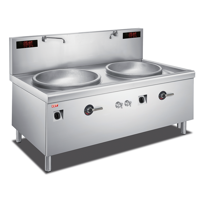 Induction Double Large Wok Cooker Manufacturers, Induction Double Large Wok Cooker Factory, Supply Induction Double Large Wok Cooker