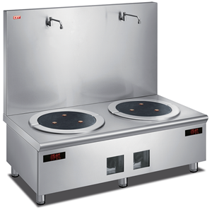 Double Induction Stock Pot Stove