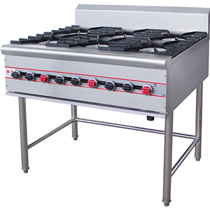 Commercial 10 Burners Gas Stove Cooker