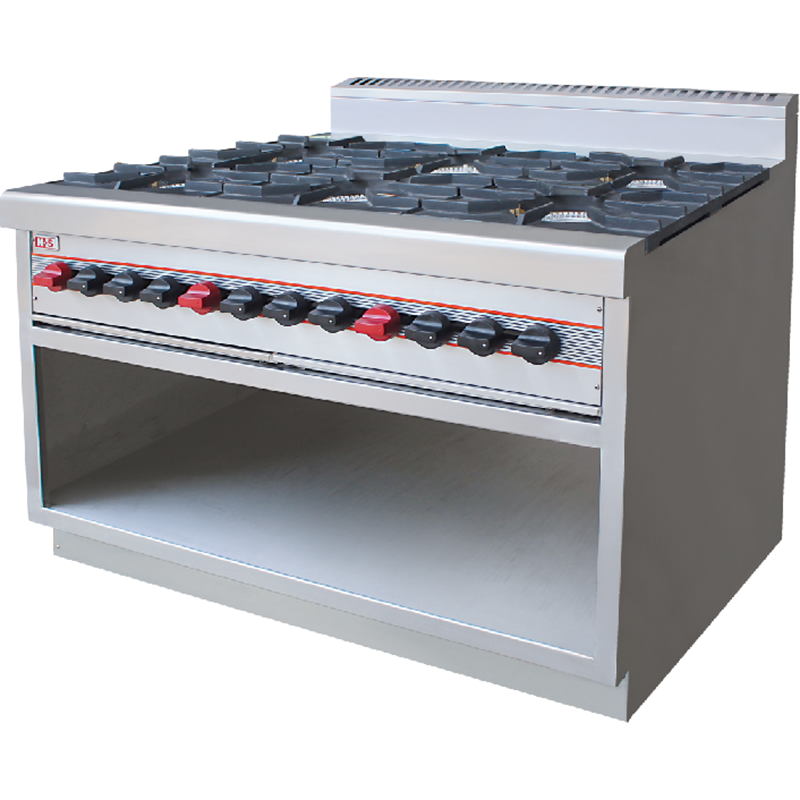 Commercial 10 Burners Gas Stove Cooker Manufacturers, Commercial 10 Burners Gas Stove Cooker Factory, Supply Commercial 10 Burners Gas Stove Cooker