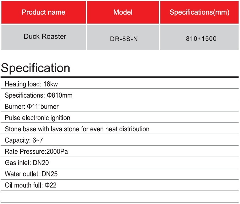 Gas Roasting Duck Oven Manufacturers, Gas Roasting Duck Oven Factory, Supply Gas Roasting Duck Oven