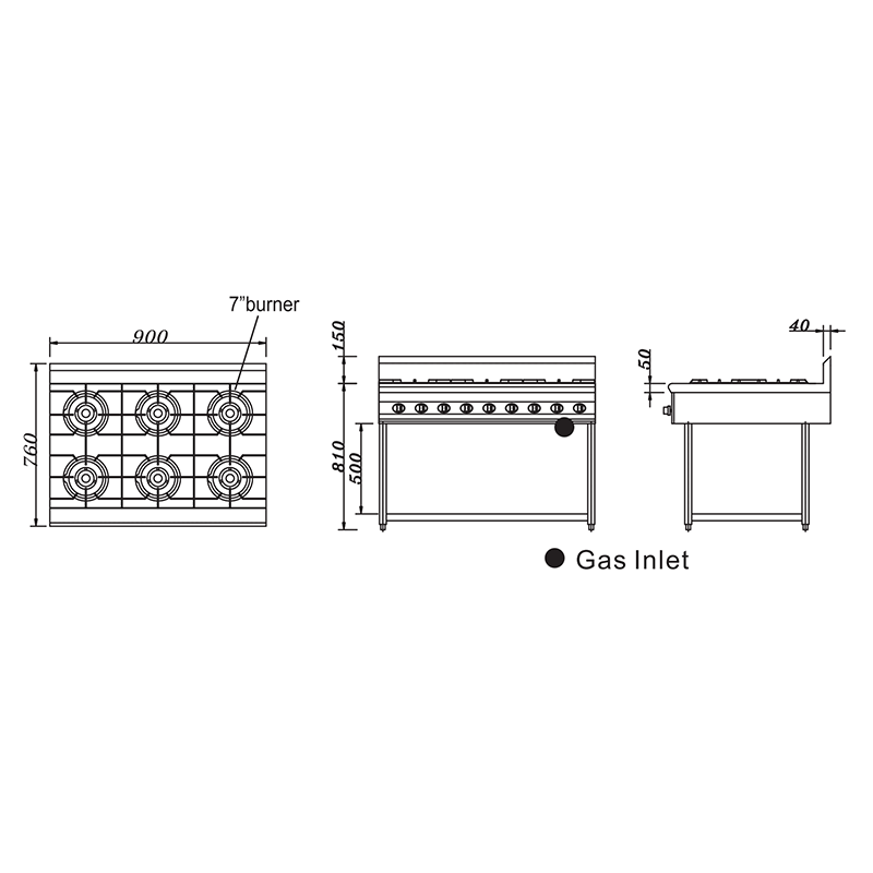 Gas Stove Cooker