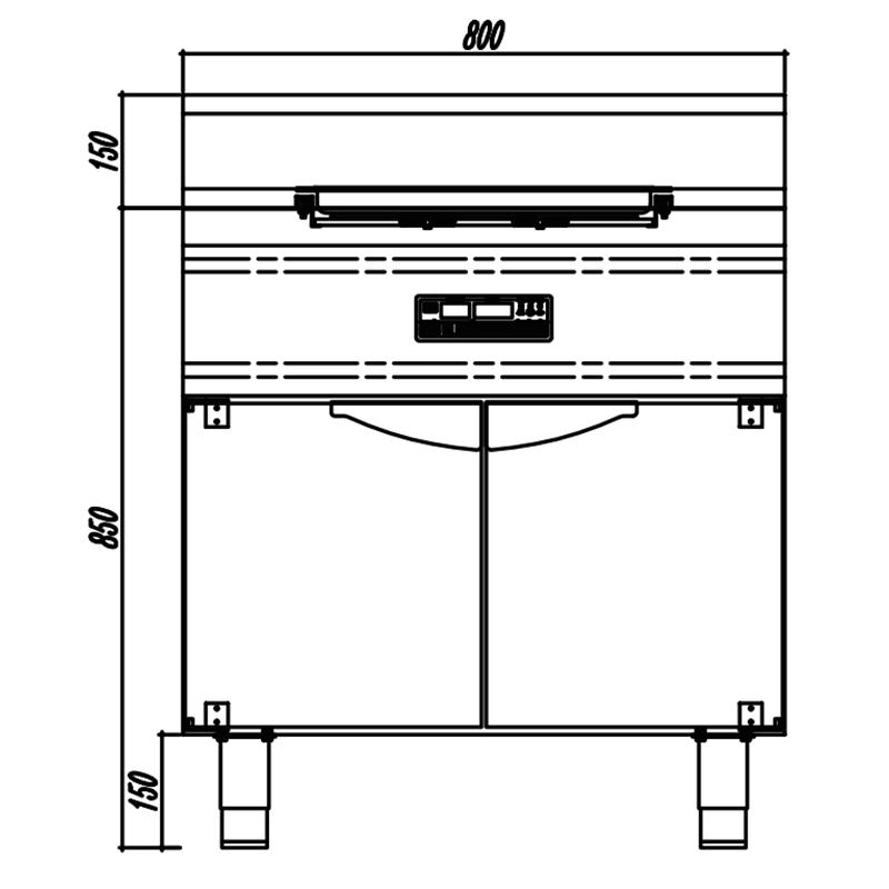 Induction Western Kitchen equipment