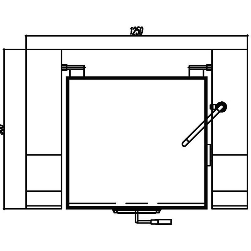 Inducción bandeja basculante Bratt