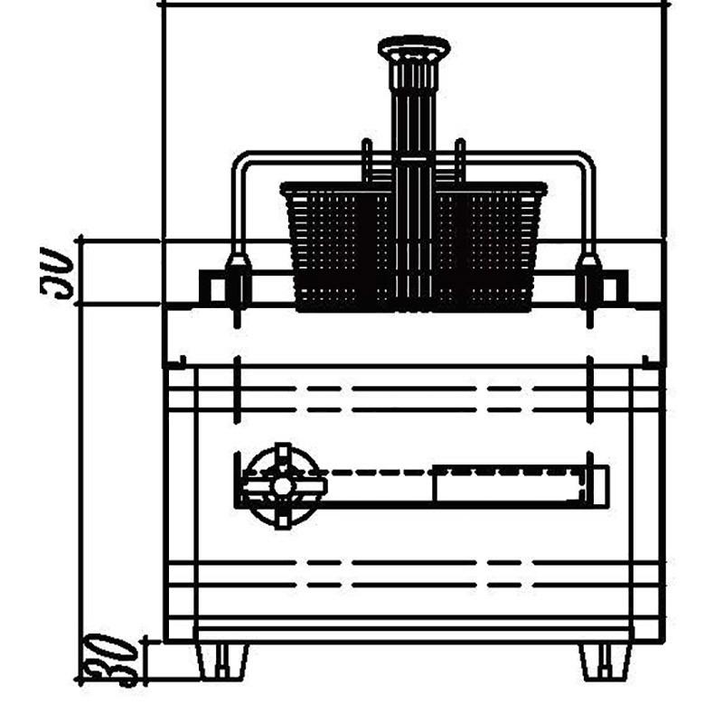 induction fryer