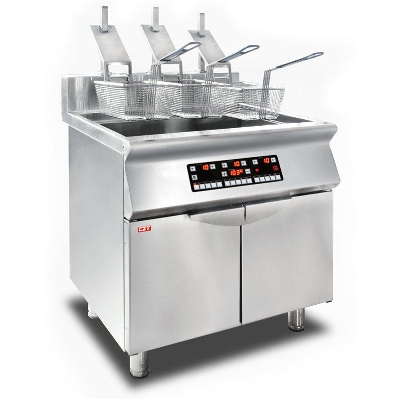 Induction Fryer-twin Tank Manufacturers, Induction Fryer-twin Tank Factory, Supply Induction Fryer-twin Tank