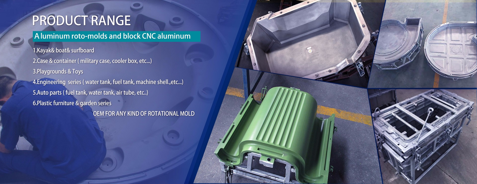 Rotational Scrubber Mold