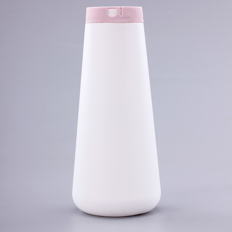Natural Color Facial Cleaning Bottle With Press Cap