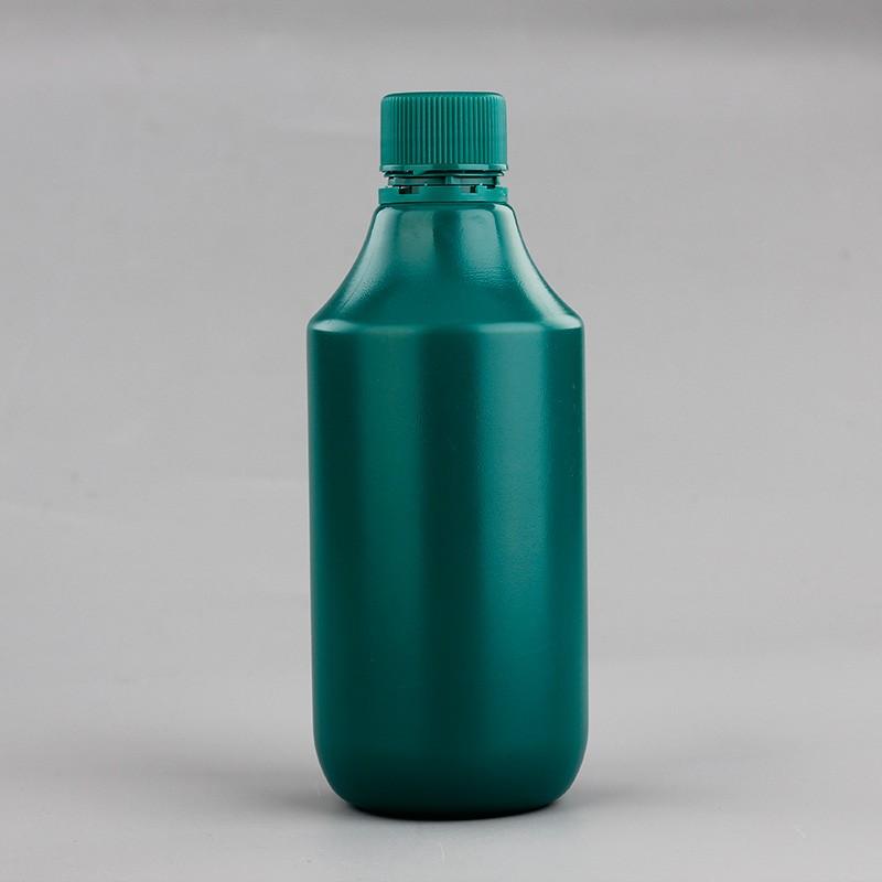 500ml Hot Sale PE Plastic Liquid Container Medicine Bottle With Child Proof Cap